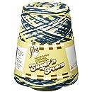 Lily Sugar 'N Cream Yarn, 14 Ounce Cone, Bold Navy Ombre, Single Ball