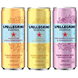 S.Pellegrino Essenza Flavored Mineral Water, 11.15 fl oz. Cans (Variety Pack of 12)