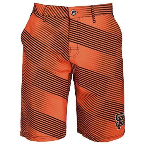 FOCO MLB Men's Diagonal Stripe Walking Short, SAN Francisco Giants 38 - Giants San Francisco Mens Shorts