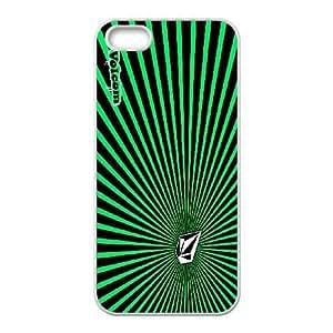 VOLCOM 04 para funda iPhone funda de caso 5 5s teléfono celular de cubierta blanca