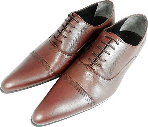 Original Chelsy - Italienischer Designer Business Schuh Slipper in braun Echtleder Herren
