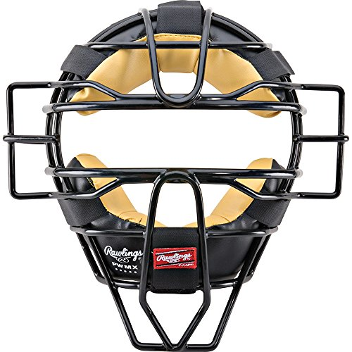 Frame Umpires Face Mask (Rawlings PWMX Face Mask (Black))