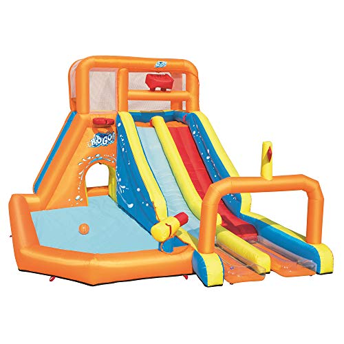 (Bestway 53306E Tsunami Waves Summit Water Park, Multicolor)