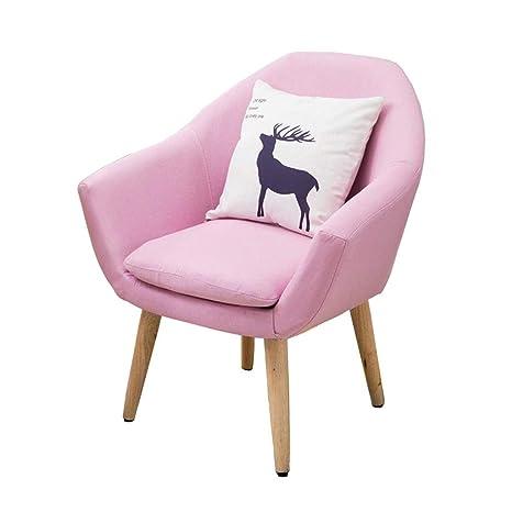 Amazon.com: Sofa Chair Restaurant Dining Table Chair Bedroom ...