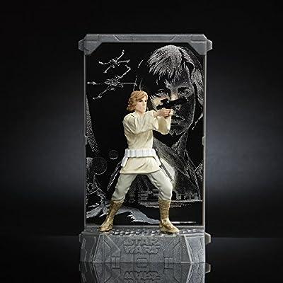 Star Wars The Black Series Titanium Series Luke Skywalker, 3.75-inch: Toys & Games