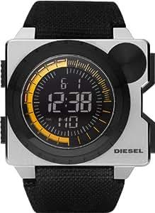 Diesel DZ7222 - Reloj digital de cuarzo para hombre con correa de tela, color negro