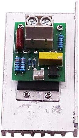 Homyl 220vac 10000w Scr R/égulateur de Tension SCR Vitesse du Moteur Variateur de Puissance