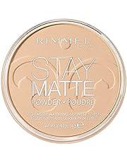 Rimmel London - Stay Matte Pressed Powder, Transparent - 001, 14 g (Pack of 1)