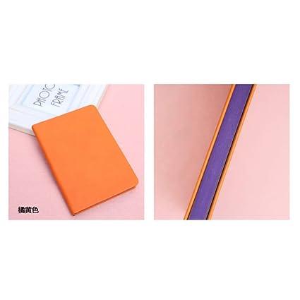 CXYBJB Cuaderno Vitality Doble Cara Vibrante Color Libreta ...