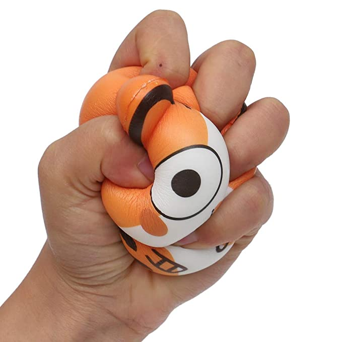 Amazon.com: LtrottedJ 1PCS Squeeze Exquisite Lovely Cat Scented Slow Rising Decompression Toys (Orange): Toys & Games
