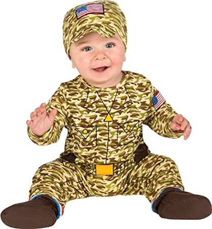 Army Man Costume for Infant and Toddler Rubies Costume Co