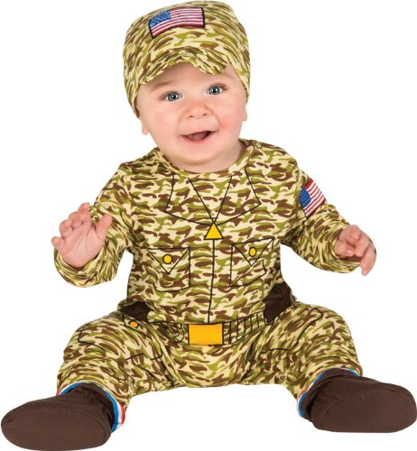 Rubie's Baby's First Halloween Army Man