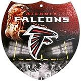NFL Atlanta Falcons 8'' x 8'' Plastic Shield Sign