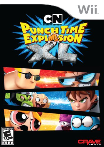 Cartoon Network  Punch Time Explosion Xl   Nintendo Wii