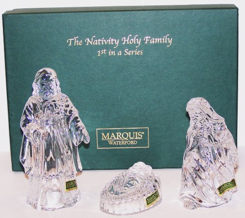 Marquis By Waterford the Nativity Holy Family 1st in a - Waterford Figurines Nativity
