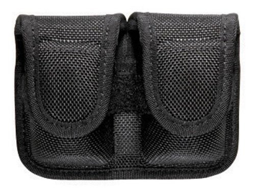 (Bianchi, 7301 Speedloader Pouch, Black, Hidden Snap)