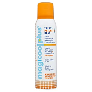 Image result for magicool prickly heat spray