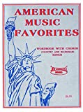 American Music Favorites Song Book and Chord Book for Guitar, Mandolin, and Banjo