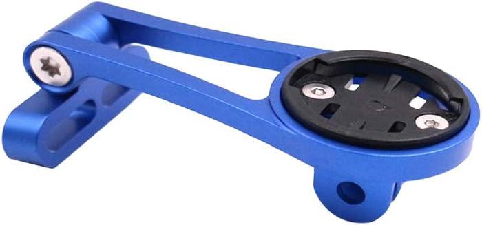 Fosheng Bike Computer Adjustable Mount Front Bracket with Flashlight Support for Wahoo Elemnt//Mini//Bolt//Roam Red