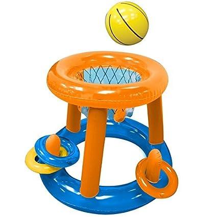 Inflatable Baloncesto Game cesta Red Objetivo Splash Remos ...