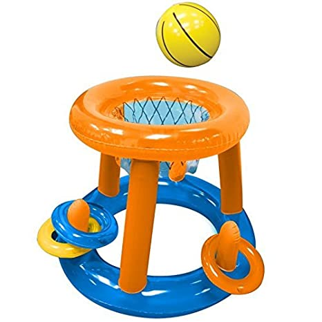 Inflatable Baloncesto Game cesta Red Objetivo Splash Remos ...