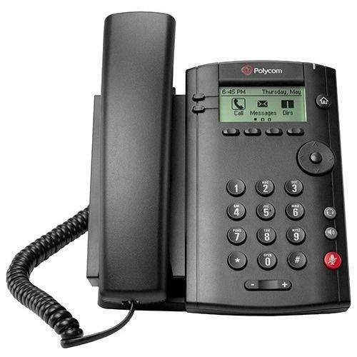 Polycom Vvx 101 Ip Phone - Cable - Desktop, Wall Mountable - 1 X Total Line - Voip - Speakerphone -