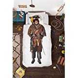 Pirate Duvet Cover and Pilowcase Set for Kids by SNURK - Twin
