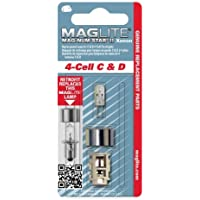 Maglite Replacement Lamp for 4-Cell C & D Flashlight, 1 pk by Mag-Lite