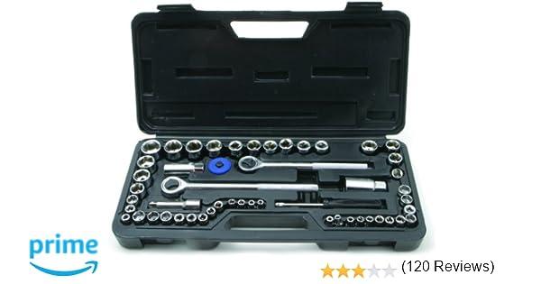 Rolson 36159 - Juego de llaves combinadas (52 piezas)