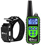 Extreme Dog Remote Training Collars - 800 Yard Distance to Train Up to a Maximum of 3 Small, Medium and Large Dogs - Static Correction, Vibration Only or Tone Only
