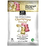 Project 7 Champagne Dreams Brut and Rose Gummy Candy Non Alcoholic 2 Ounces Limited Edition Special Occasion