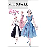 Butterick Patterns B4790 Misses' Wrap Dress, Size FF (16-18-20-22)