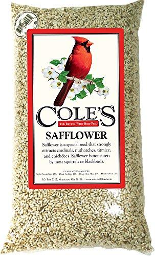 Cole's SA10 Safflower Bird Seed, 10-Pound