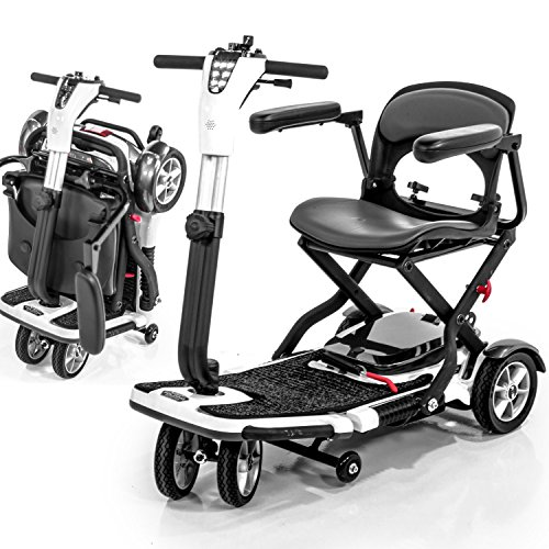Pride Go-Go S19 Folding Mobility Scooter for Adults, SLA Bat