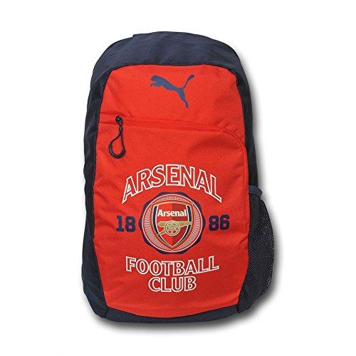 PUMA Arsenal Club Crest Backpack (Puma Red/Estate Blue/White)