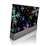 Neon Snowflakes Snowflake Wii Console Vinyl Decal Sticker Skin by Moonlight Printing