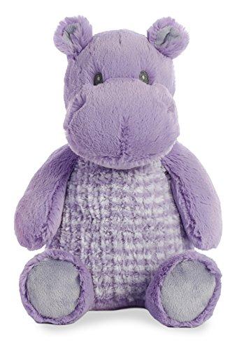 (Aurora Hippo�(Little Pitter Pattern) 14 inch Baby Stuffed Animal Plush 20945)