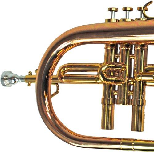 Schiller CenterTone Flugelhorn - Rose Brass