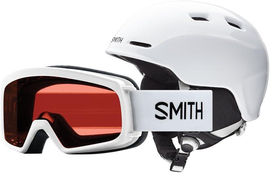 Smith Optics Zoom Jr. Sidekick Combo Ski Snowmobile Helmet – Black