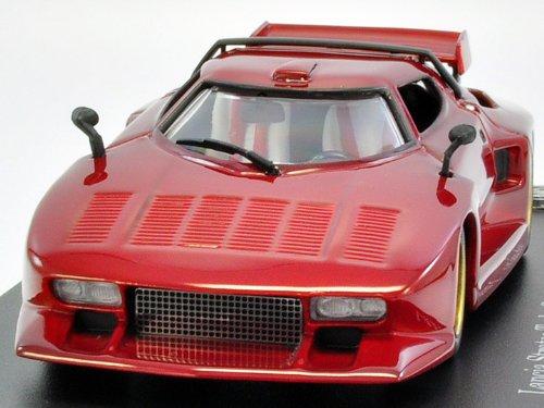 1/43 Lancia Stratos Gr.5 1976 Metallic ROT (japan import)