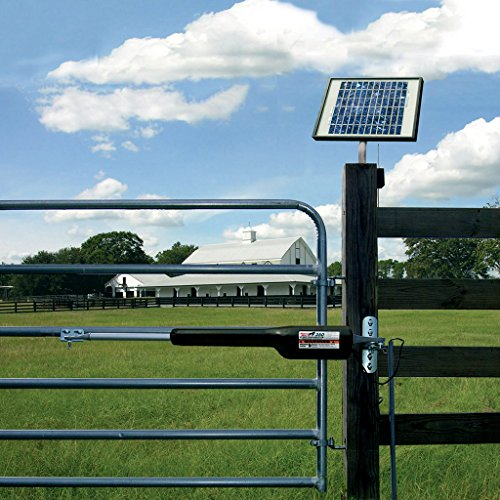 mighty mule ezgo solar gate opener solar kit new ebay. Black Bedroom Furniture Sets. Home Design Ideas