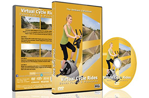 Price comparison product image Virtual Cycle Rides - Dunes, Forest And Mountains - For Indoor Cycling, Treadmill and Running Workouts