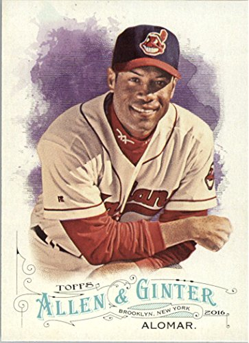 (2016 Topps Allen and Ginter Baseball #69 Roberto Alomar Cleveland Indians )