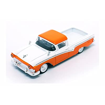 Road Signature 94215OR 1957 Ford Ranchero Orange 1/43 Diecast Model Car: Toys & Games