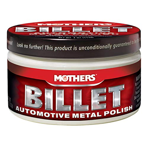 Six Polish - Mothers 05106-6 Billet Metal Polish - 4 oz, (Pack of 6)