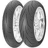 Avon Tyres AV80 3D Ultra Sport Tire - Rear - 200/50ZR-17 , Position: Rear, Tire Size: 200/50-17, Rim Size: 17, Load Rating: 75, Speed Rating: W, Tire Type: Street, Tire Construction: Radial, Tire Application: Sport 4530017
