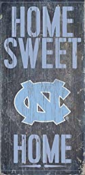 North Carolina Tar Heels Wood Sign - Home Sweet Home 6\