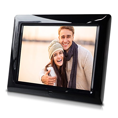 8 inch Digital Photo Frame for Home & Office Use - Slideshow, Photo Rotation by Sungale