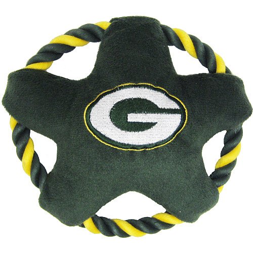 Pets First Star Disk Toy, Green Bay Packers, My Pet Supplies
