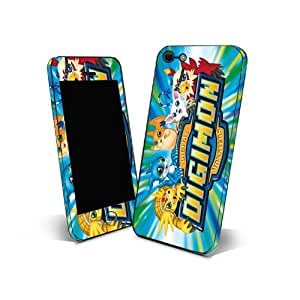 Skin Sticker 3m Cover Phone for Samsung Galaxy S Duos S7562 Protection Skin Design Digimon Cartoon NDGM05
